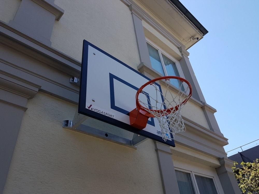 sports shoes b3609 1af0d Basketball Wandanlage Outdoor Spezialanfertigung